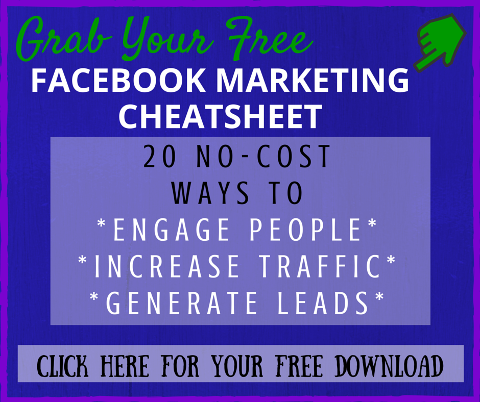 Facebook Marketing Cheatsheet