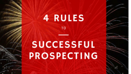4 Rules To Successful Prospecting